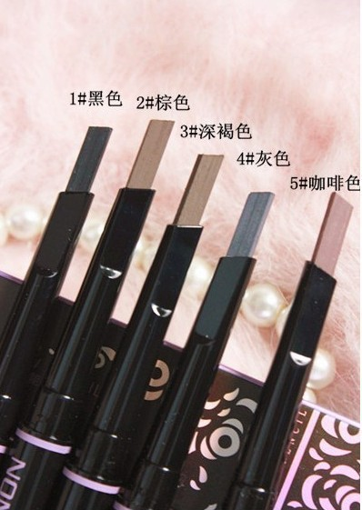 5pcs/lot Waterproof Longlasting Eyebrow Pencil for Eye Brows Liner Shapper Eyebrows Makeup Tool
