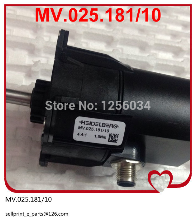 1 piece heidelberg printing machinery parts stayed motor MV.025.181/10 China post free shipping china post free shipping 1 piece heidelberg sm102 sensor 61 198 1563 06 61 198 1563