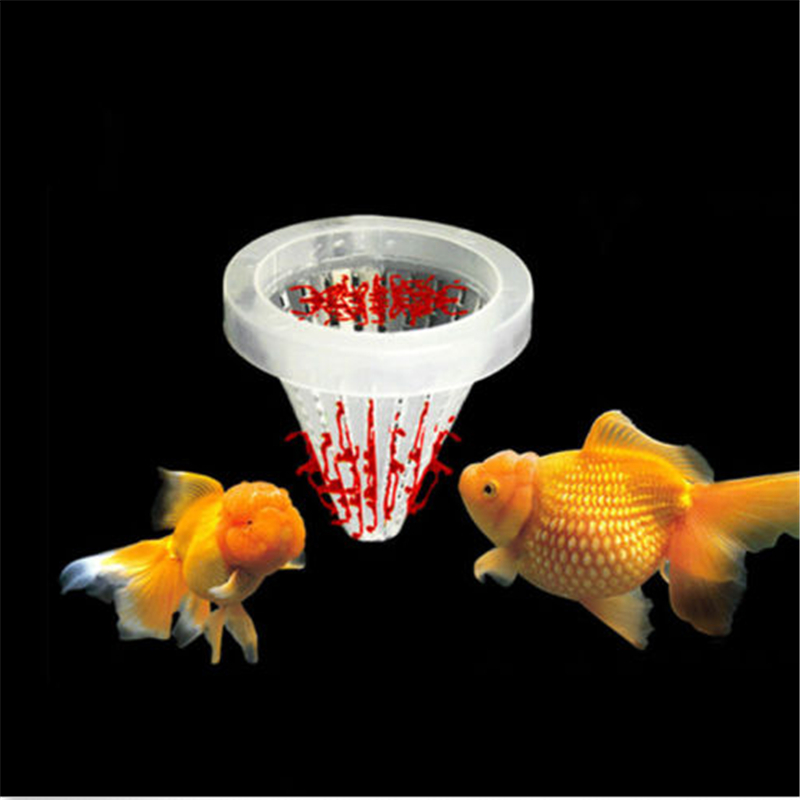 5pcs set aquarium basket feeder fish food live worm for Bottom feeder fish list