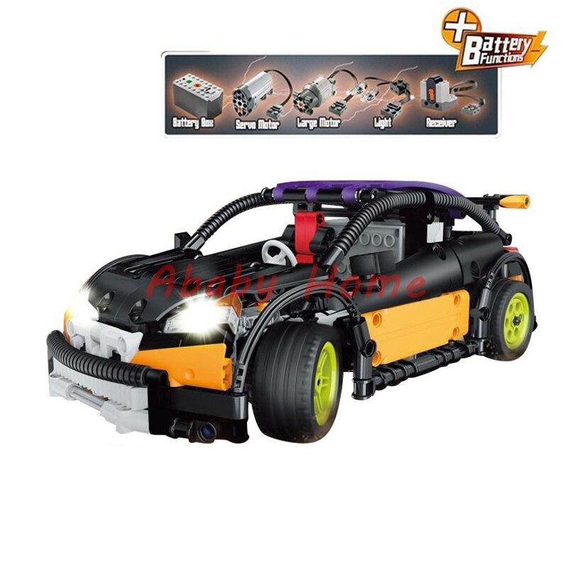 In Stock New Lepin 20053 Technic Series Hatchback Type RC Car MOC-6604 Children Toys Building Blocks Bricks Gifts 640pcs шарики для пейнтбола goldenball 0 25 airsoft bbs 3000rounds gb3025w 237