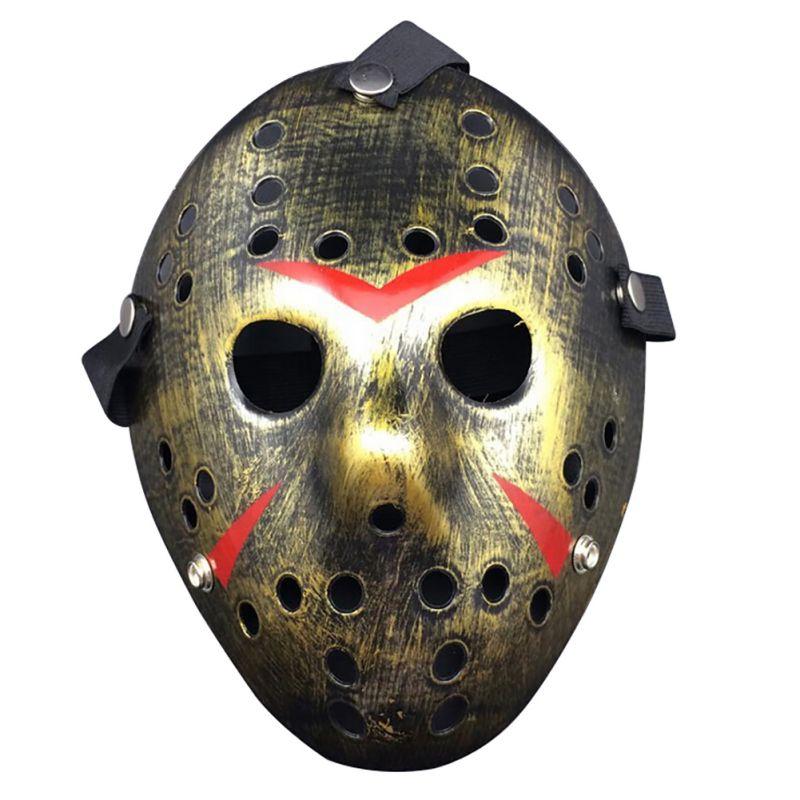 2018 Halloween Mask Jason vs Friday The 13th Horror Hockey Mask Halloween Party Cosplay Scary Mask 2