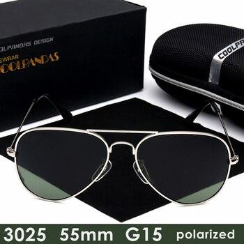 4c8a51a1ef 2019 diseñador de la marca G15 hombres HD para mujeres, Gafas de sol  polarizadas de rayos, Gafas de sol para hombre 3025 55mm Gafas, Gafas de  sol de UV400