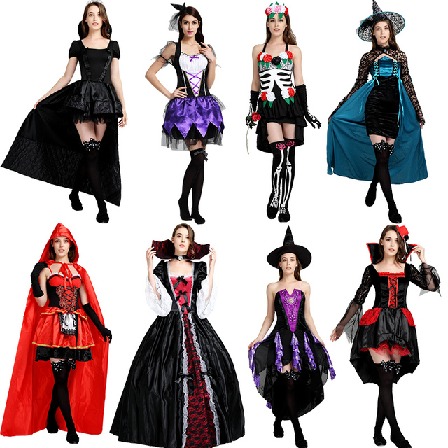 halloween costumes for women fancy dress scary sexy princesse vampire  costumes halloween witch men ladies adult Party Carnival 47adb35abd5c