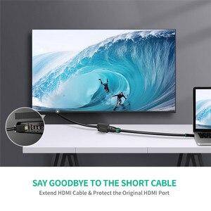 Image 2 - Ugreen HDMI Extender 4K 60Hz HDMI Verlängerung Kabel HDMI 2,0 Männlich zu Weiblich Kabel für HDTV Nintend Schalter PS4/3 HDMI Extender