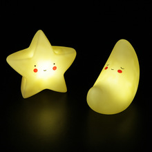 LED Night Light Press Down Touch Room Desk Bedside Lamp for Baby Kids Christmas Gifts Interior Living Room Decorative Lighting цена 2017