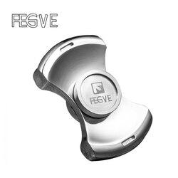 New FEGVE Fidget Spinner Hand Spinner Finger Spinner Metal Sandblasting Copper Stone EDC Fidget Toy Stress Handspinner SL177