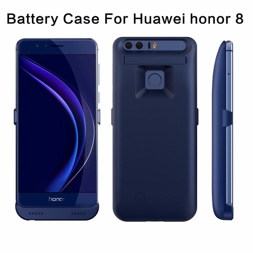 bilder für Für Huawei honor 8 Batterie fall Wiederaufladbare Backup Externes Batterie Energienbank-ladegerät Fall pack 3800 mt Für Huawei ehre 8