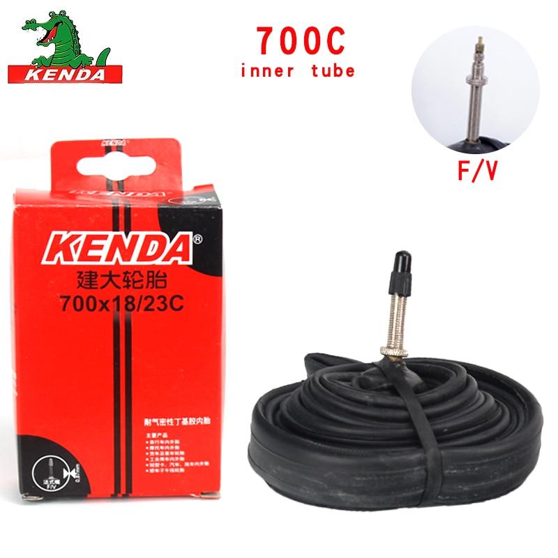 Kenda внутренняя шина для велосипеда 700*18 23 25 28 см/32 см; большие размеры 35-43 и выше, 45C французский клапан горного велосипеда, реагенты обогащения...