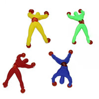 2017 100Pcs Nostalgic Fun Climb Men Sticky Wall Climbing Flip Kids Toys Dropship Y116