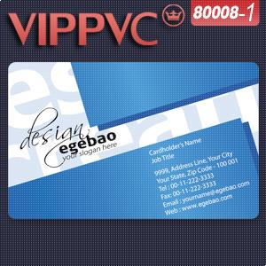 a80008-1 personal business cards Printing glossy PVC discount card 85.5X54X0.38mm
