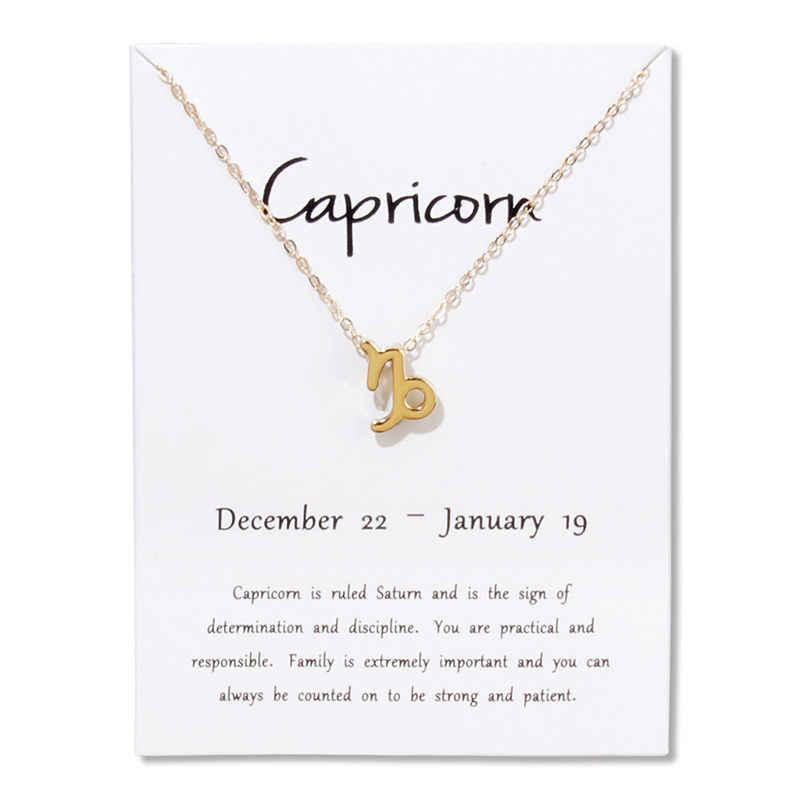 Весы 12 созвездий колье ожерелье кулон Лев рыбы Дева Скорпион Козерога подарок на день рождения белое ожерелье с картой ювелирные изделия