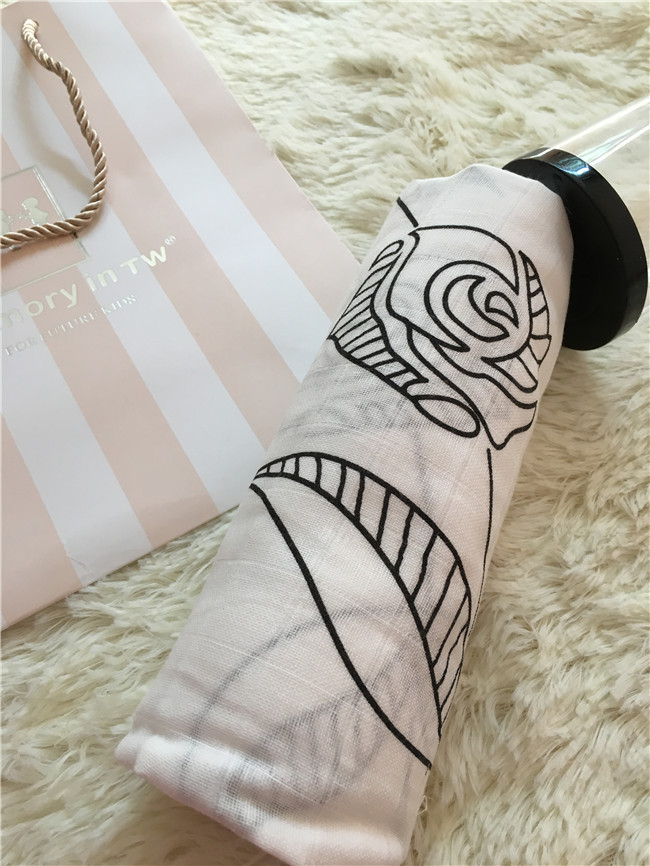 ROSE Marquisette Swaddle Blanket 48x48 ,Black Rose design , crib fiited sheets, change pad cover,travel blanket