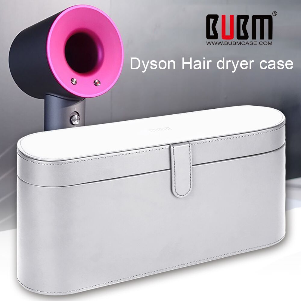 BUBM Dyson Supersonic Hair Dryer Hard Case Magnetic Flip Anti scratch Organizer Travel Gift Case for
