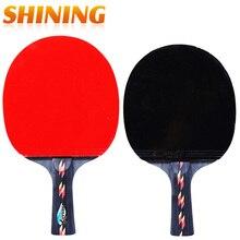 Penhold короткая ручка с длинной ручкой встряхивание-рукоятка для настольного тенниса ракетка для пинг-понга весло с бугорками резиновая ракетка для пинг-понга мешочек