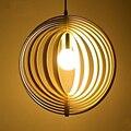 LEVARAM Luzes do Pendente de Madeira Cores Primárias Pingente Lâmpadas para Casa de Jantar Sala de estar Lâmpada de Iluminação Luminaria Pendente Colgantes