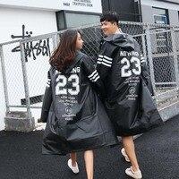 2019 raincoat female Korean Japanese fashion women's coat version windbreaker adult hiking men's poncho