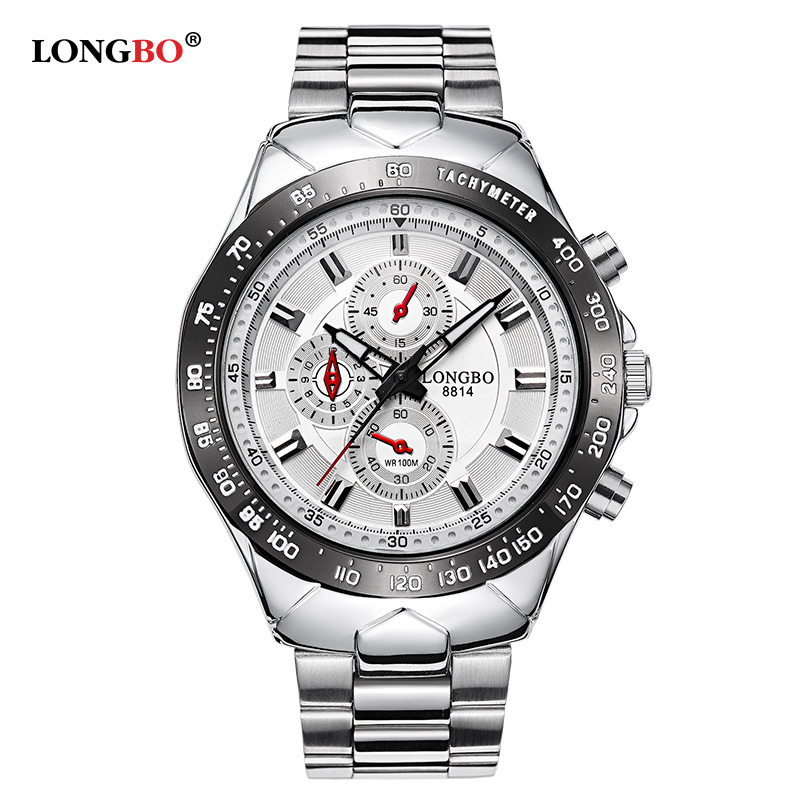 LONGBO relogios masculinos 2016 Luxury Brand Watch Men Fashion Watch Quartz Business Casual Wristwatch Men Watch