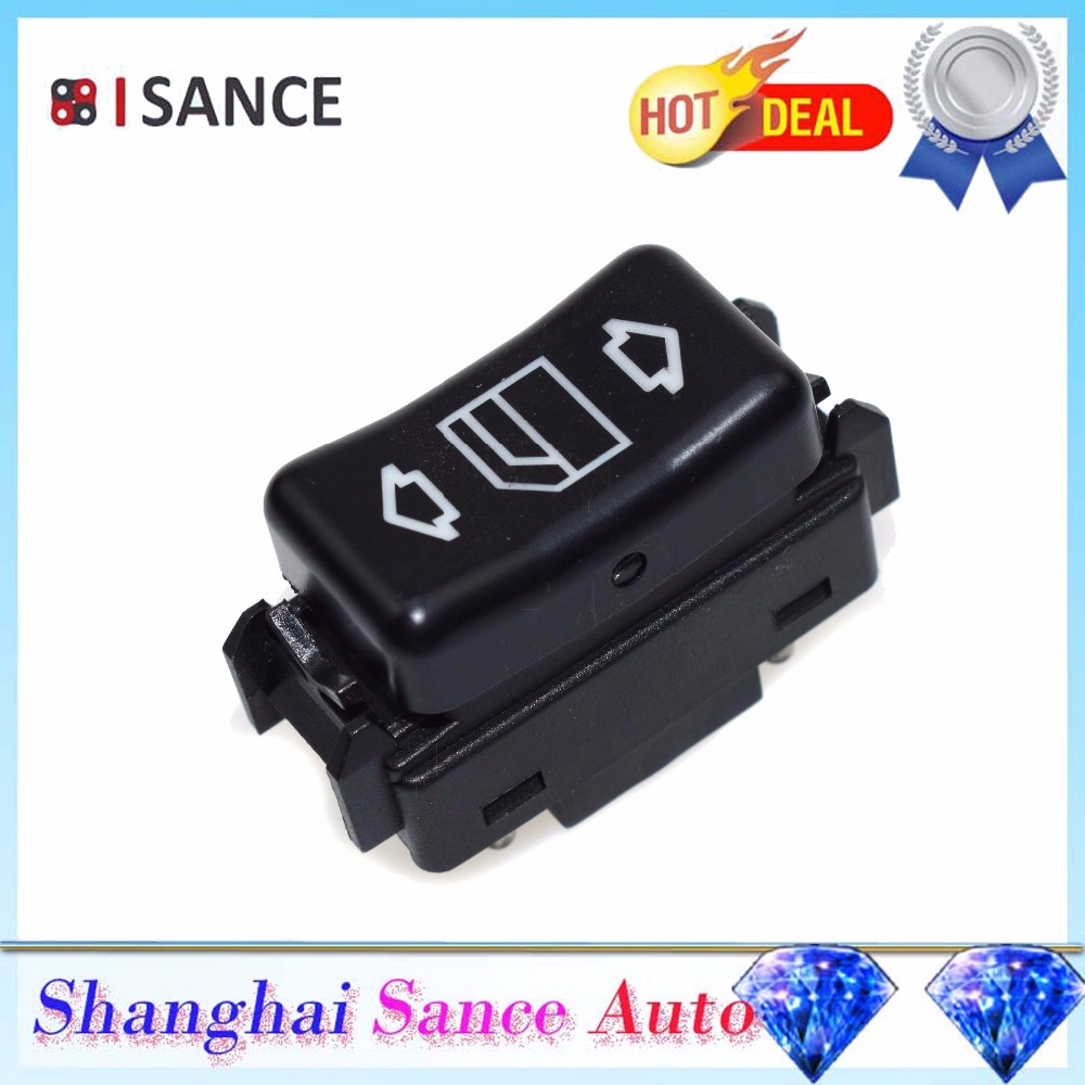 Isance Rear Right Power Window Control Switch 124 820 4810 Wiring Harness Mercedes W124 Left 1248204810 A1248204810 For