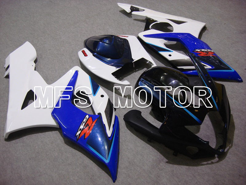 For Suzuki GSXR 1000 K5 2005 2006 Injection ABS Fairing Kits GSXR1000 K5 05 06 - Others - White/Blue body with blue headlight hot sales promotion blue white for suzuki gsxr1000 05 06 gsx r1000 2005 2006 gsxr 1000 k5 abs moto fairing injection molding