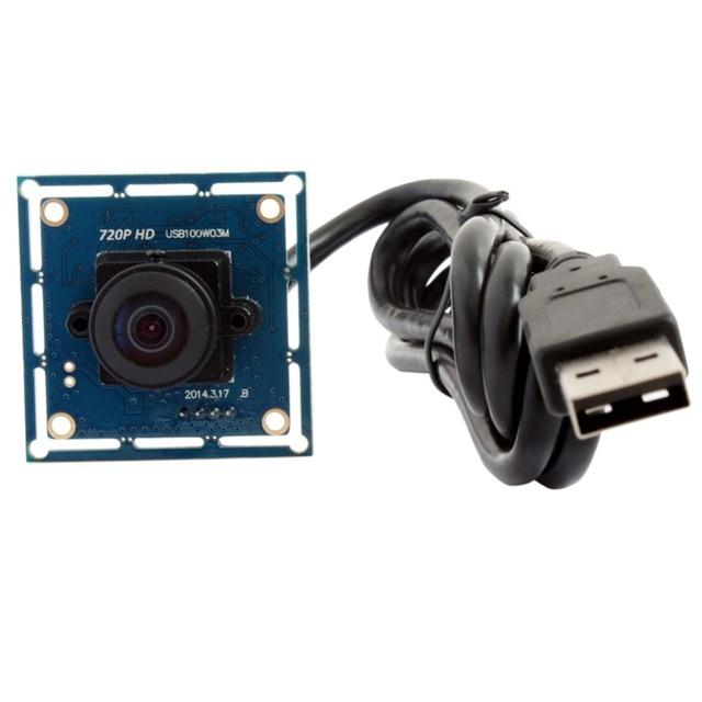 720p HD Wide Angle CMOS OV9712 camera usb2.0 170 degree fisheye security Camera Usb Webcam Camera Module ELP for Robotic Systems