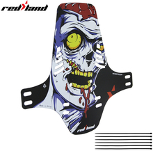 Bicycle Mudguard MTB Fender Plastic Colorful Front /rear Bike Mtb Wings Mud Guard Cycling Accessories for