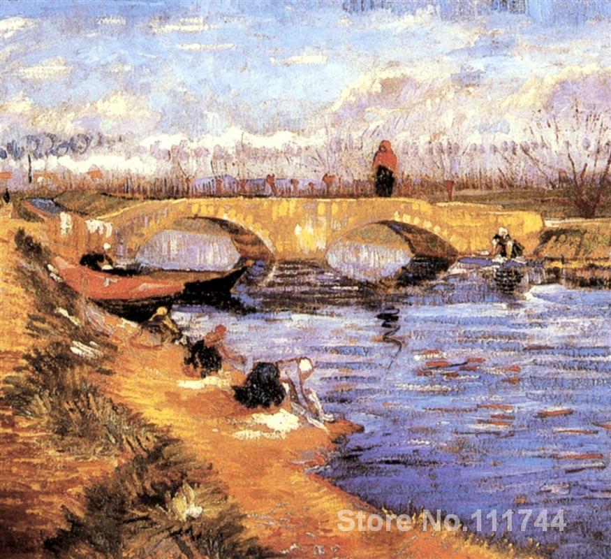 La Gleize Pont sur la Vigneyret Canal Vincent Van Gogh