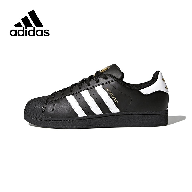 Official New Arrival Adidas Originals Superstar Unisex Skateboarding Shoes Sneakers Classique Shoes Hard-Wearing adidas originals men s superstar ll sneaker