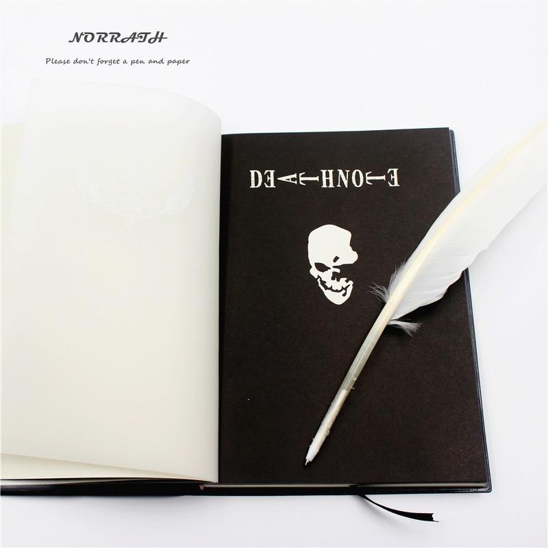 NORRATH Moda fierbinte Anime Tema Moartea Notă Cosplay Notebook Noua - Blocnotesuri și registre - Fotografie 3