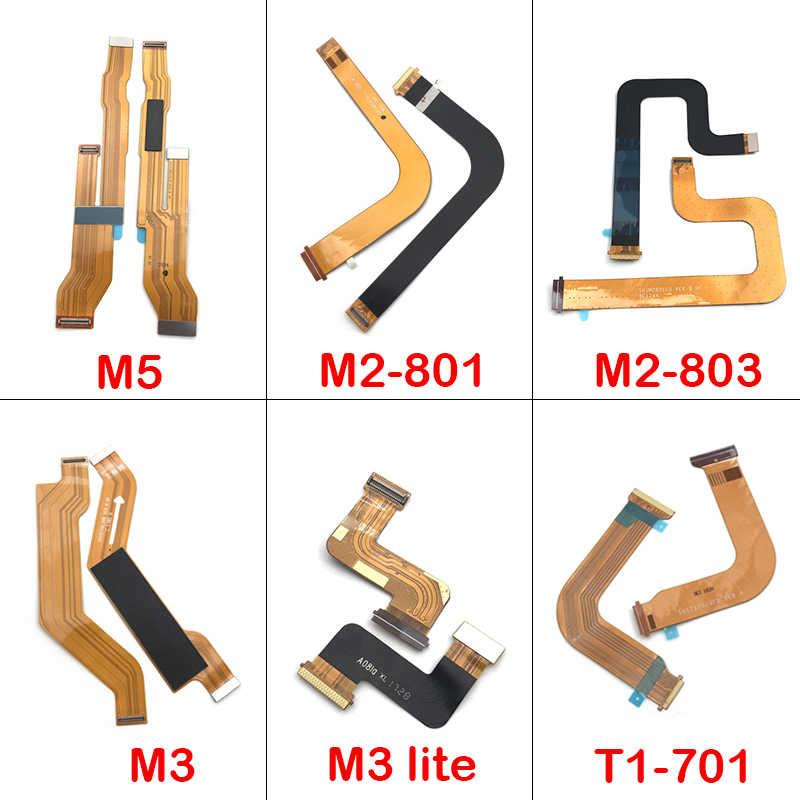جديد متوافق لهواوي MediaPad M3 لايت/m2-802 m2-802 m2-803/m5/T1-701u اللوحة الرئيسية اللوحة الاتصال الكابلات المرنة