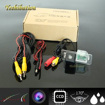 Yeshibation Back Up Parking Camera For BMW X6 2010 2011 2012 2013 With Dynamic Trajectory Moving Guide Parking line