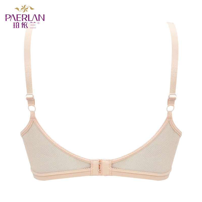 PAERLAN small chest Push Up bra 5 8 Cup mesh wrapped chests small chests gathered smooth underwear Women Back Closure in Bras from Underwear Sleepwears