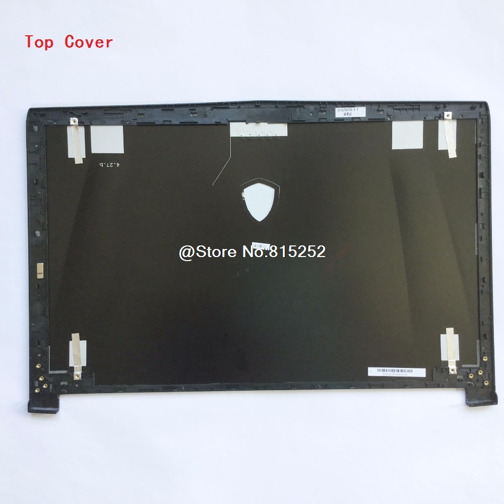 Laptop Top Cover For MSI GE62 6QD 6QF 2QE 16J1 16J2 16J3 GE62VR 3076J1A212Y311 3076J1C218Y311 E2P-6J10213-Y31 E2P-6J1C216-Y31 laptop keyboard for msi gp60 2qe 850ne nordic 2qe 852be 2qe 856be belgium 2qe 862jp japan 2qe 871cz czech 2qe 890xtr turkey