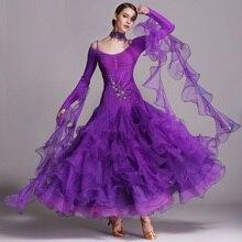 Suknie na konkurs tańca towarzyskiego taniec towarzyski walc sukienki standardowa sukienka taneczna nowoczesne kostiumy do tańca foxtrot dress tango