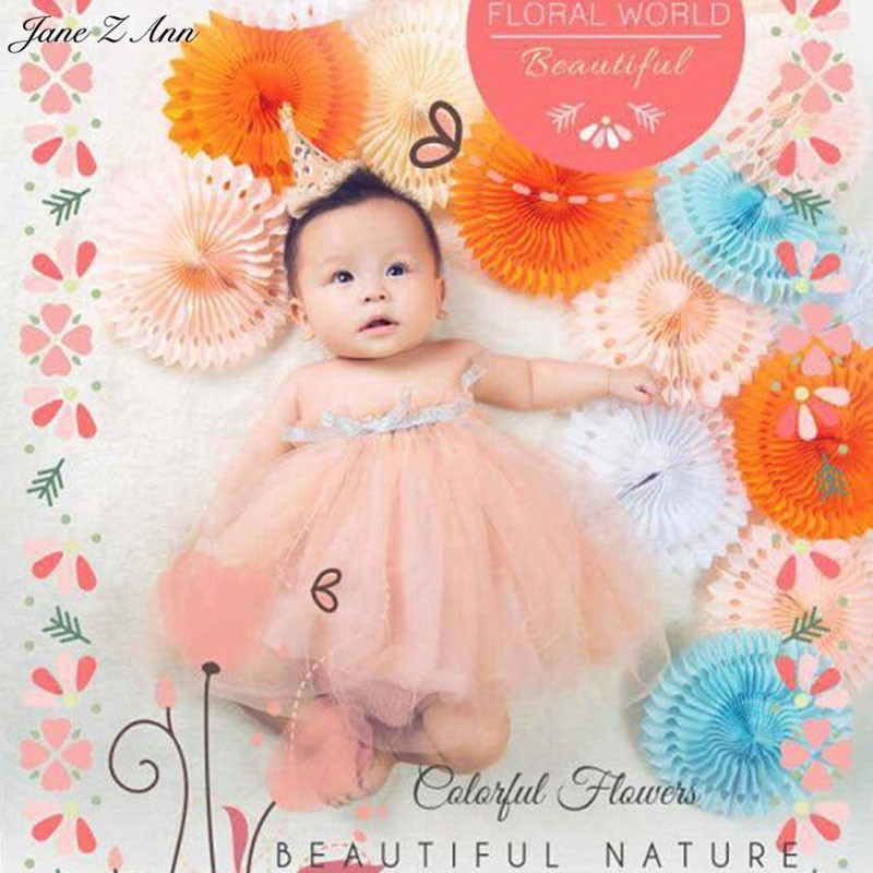 Jane Z Ann Baby Photography Props Theme Background Costume Clothes baby colorful world photo Studio Shooting Photo Props vinyl photo background for baby studio props wooden floor christmas photography backdrops 5x7ft or 3x5ft jiesdx005
