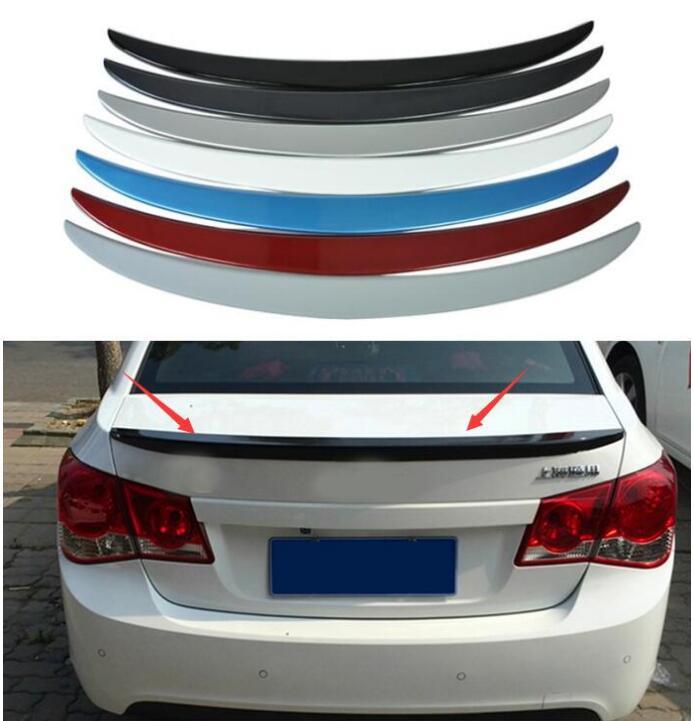 Leale Qualità Case Fit Per Chevrolet Cruze 2009-2014 Accessori Auto Cofano Del Bagagliaio Posteriore Coda Posteriore Assetto Coda Spoiler Abs (nota: Colore) Adottare La Tecnologia Avanzata