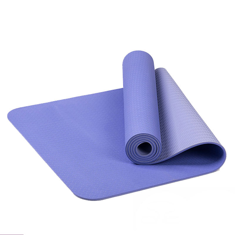 Mega Deal 8e23 Tapis De Yoga Tpe 6mm Double Face Couleur