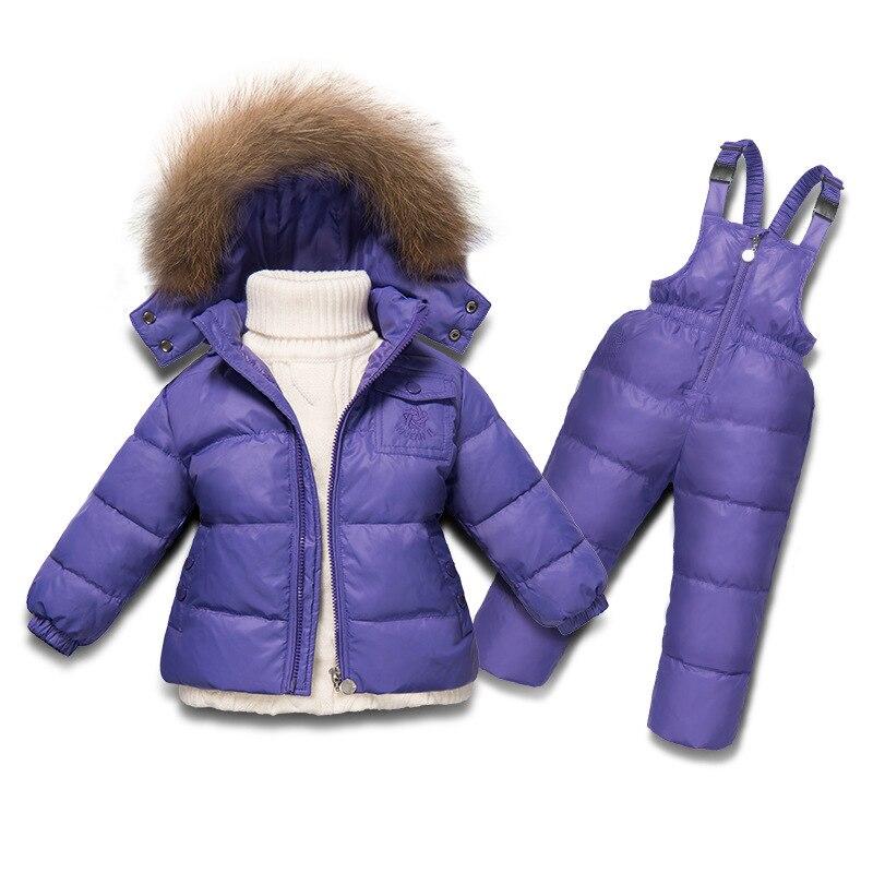 2018 г. модная зимняя куртка для пальто для девочек для детей от 2 до 6 лет одежда 5 цветов детские комбинезоны теплые водонепроницаемые Зимняя ...