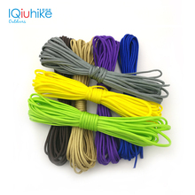 Monochrome 5 Meters Dia.4mm 7 stand Cores Paracord For Survival Parachute Cord Lanyard Camping Survival Equipment Tents Rope