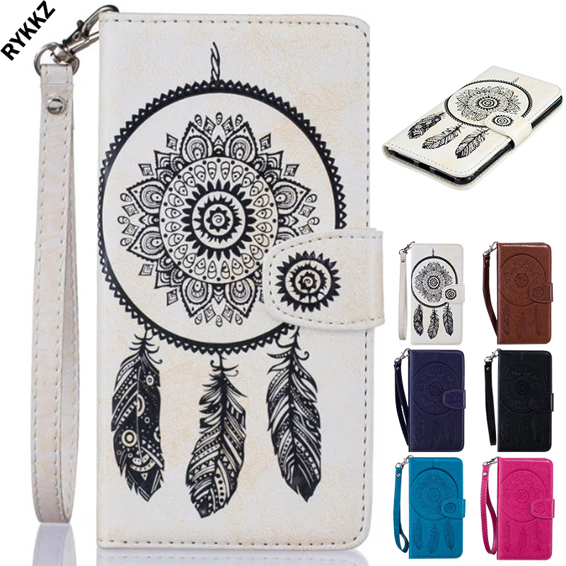 2018 HOT Luxury Phone bag For HTC one M10 M 10 flip case Phone Leather Cover for HTC 10 Wind Chimes 3D Embossing phone case