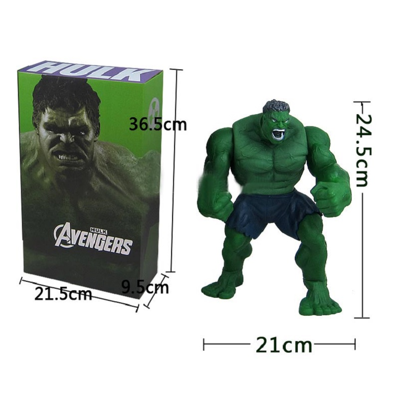 Avengers Hulk PVC Action Figure Model Toy Anime Hot Movie Hulk Activity Collection Display Juguetes Creative Birthday Gift avengers movie hulk pvc action figures collectible toy 1230cm retail box