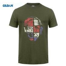 Noam Chomsky T camisa de arte Original T camisa de los hombres casuales de  algodón de 015e61eeacb