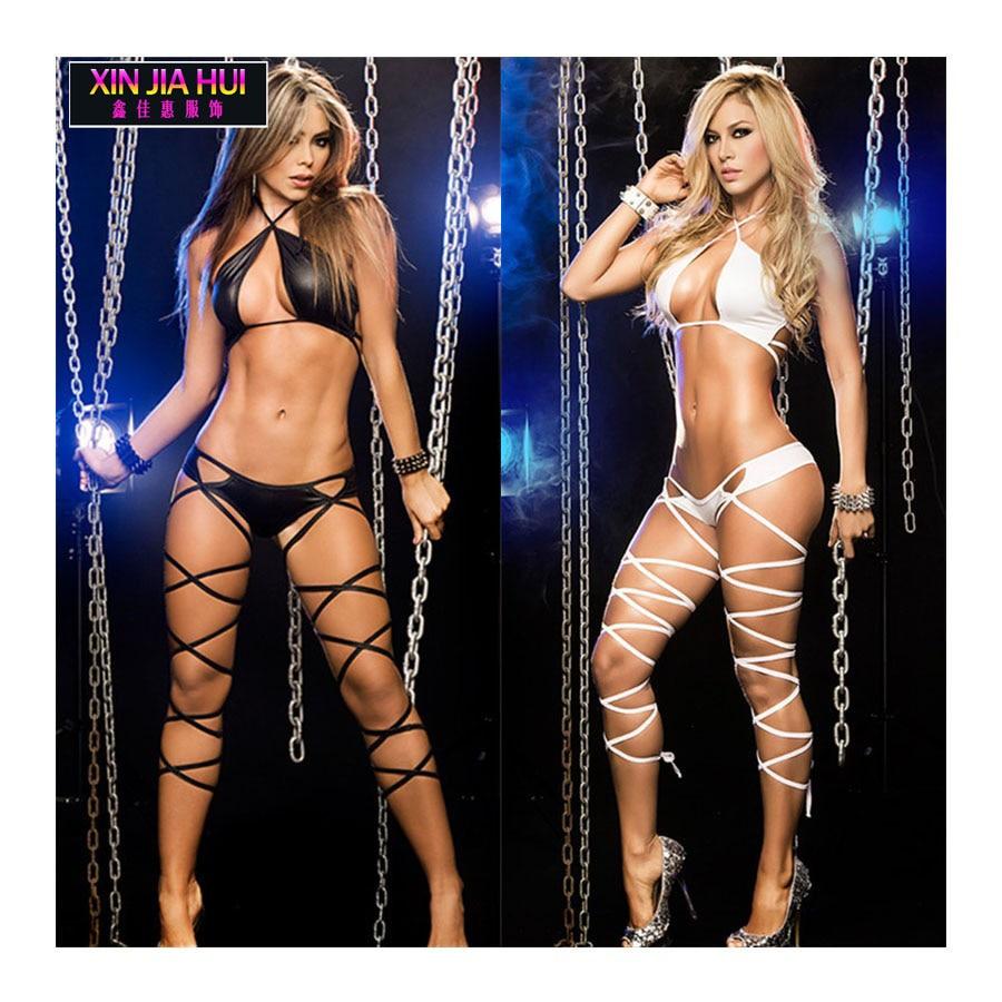 Baila Con Lenceria Porno atractivo del club ropa del funcionamiento de la ropa