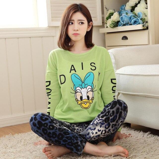 970d05d1b5 Pijama para las mujeres nueva primavera y el otoño de la historieta pijama  mujer de manga
