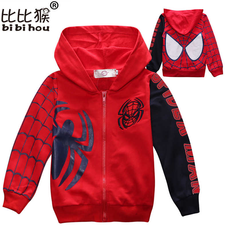 549b12087 Detail Feedback Questions about baby coat Spiderman Clothes Spring ...
