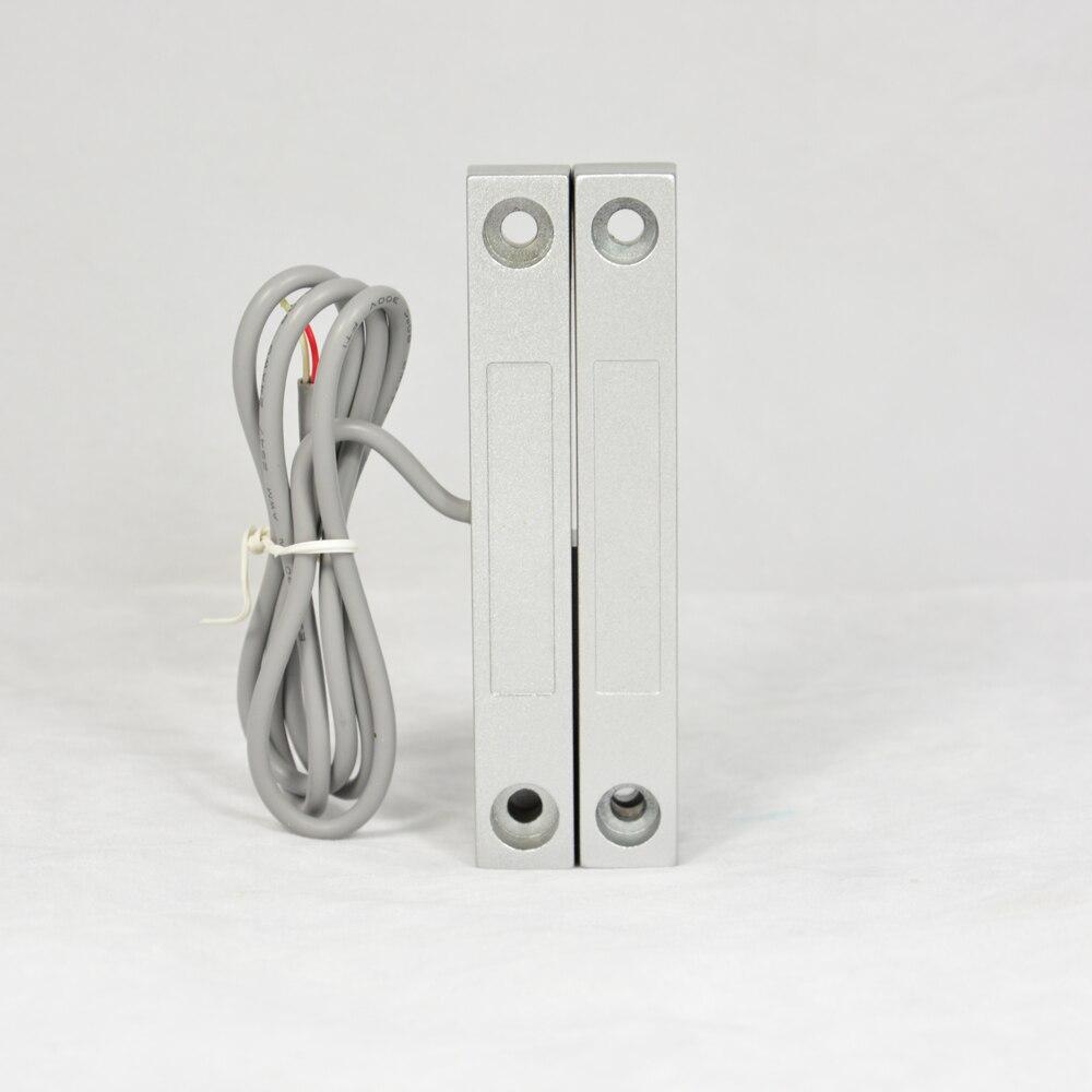 (1 STÜCKE) metall Wired tür magnetsensor fenster alarmschalter NC relaisausgang Home security alarm selbstverteidigung anti einbrecher