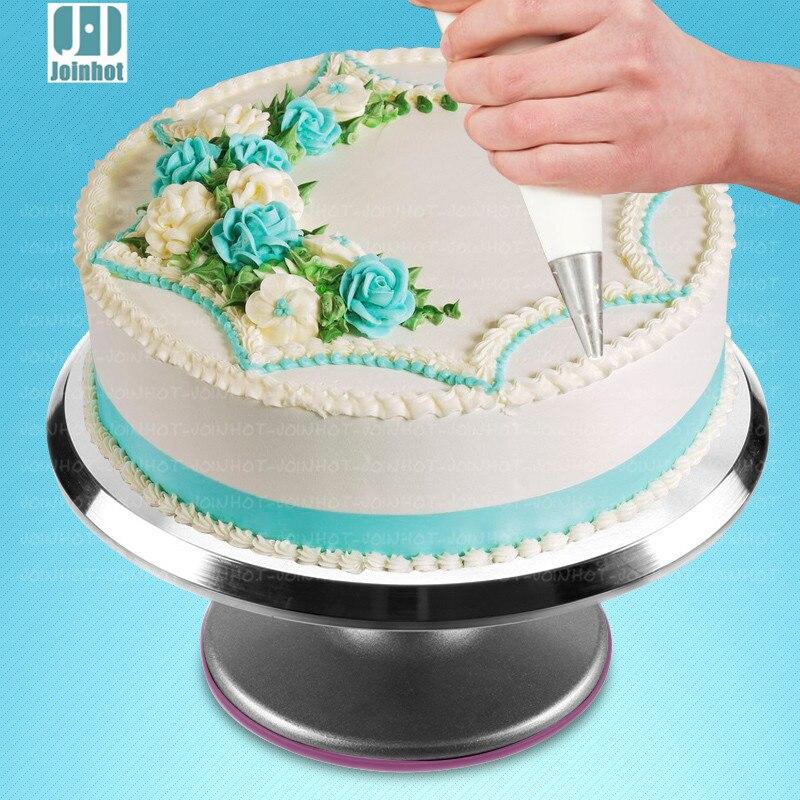 2016 by UPS Cake Decorating turntable aluminum alloy skid cake