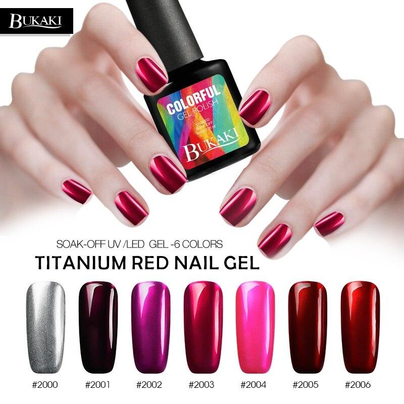 How To Clean A Titanium Nail: Aliexpress.com : Buy BUKAKI French Nail Art Red Titanium