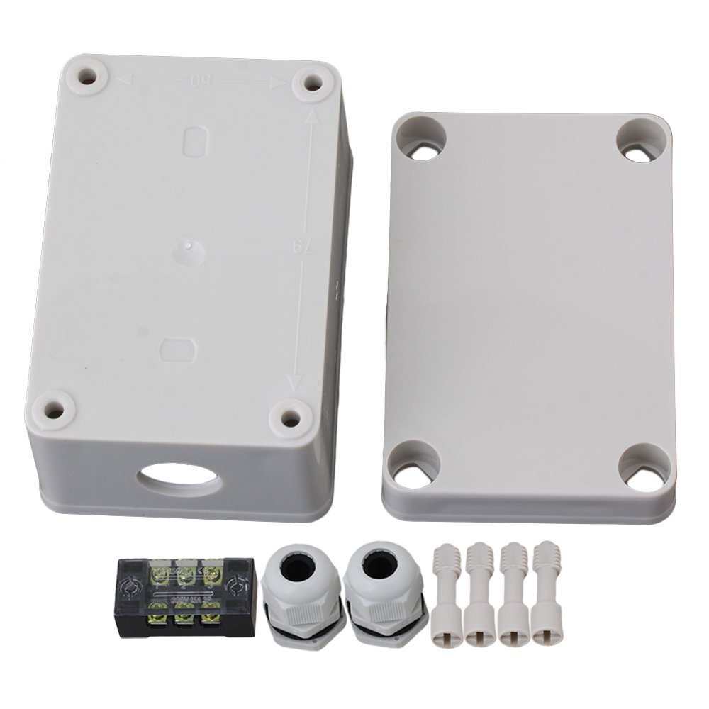 95x65x55mm Plastic Waterproof Electrical Junction Box 3 Position 1 In 1 Out Terminals Enclosure Case with 2 PG11 Connector 1 piece free shipping plastic enclosure for wall mount amplifier case waterproof plastic junction box 110 65 28mm
