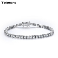 new bracelets for women 925 silver classic water drop pattern plated armbanden voor vrouwen hand chain for girl friend CTS04568