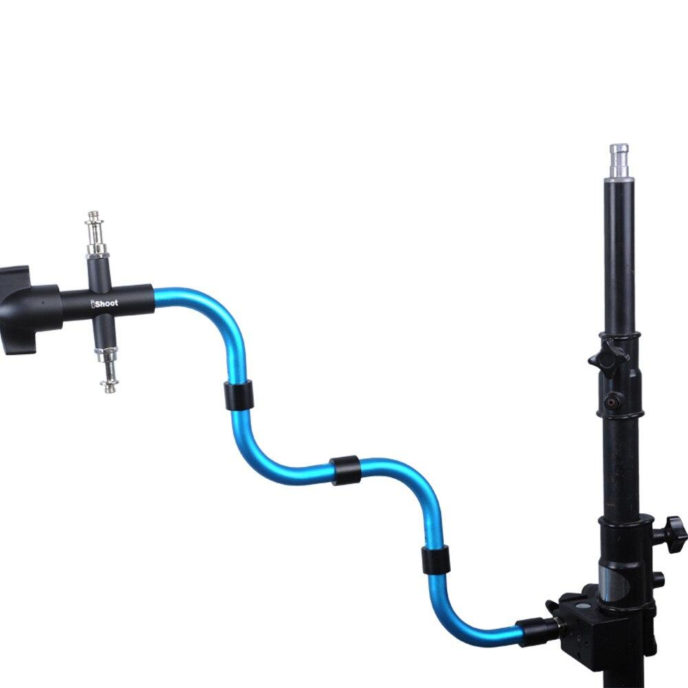 Pince Super forte pour trépied lumière Support Tube + Support photographique Support de caméra Flash Support pour Manfrotto MA050A serpent bras